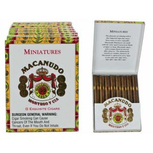 Macanudo Miniatures Cafe