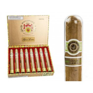 Macanudo Gold Label Crystal Tubos