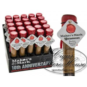 Maker's Mark Tenth Anniversary 650 Tubes