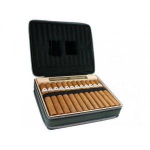 Montecristo White Cigar & Tablet Travel Case
