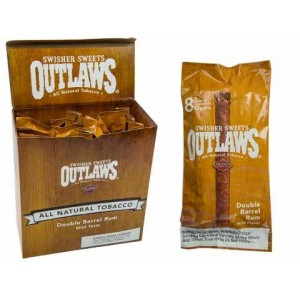 Outlaws Double Barrel Rum Cigarillos By Swisher Sweets