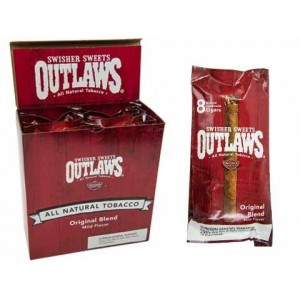Outlaws Natural Sweet Cigarillos By Swisher Sweets