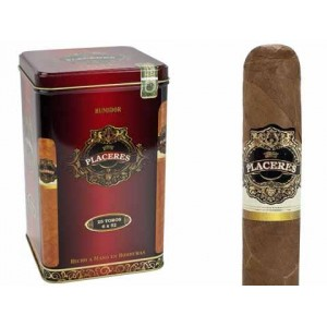 Placeres Toro With Humidor Can