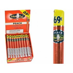 White Owl Cigarillos Peach 69